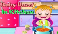 Baby Hazel: In the Kitchen